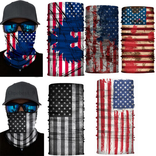 National Flag Face Mask Scarf Neck Gaiter Warmer Bandana Bal