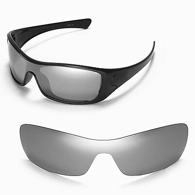 4ea3ceff0bb New Walleva Polarized Titanium Replacement Lenses For Oakley Antix  Sunglasses