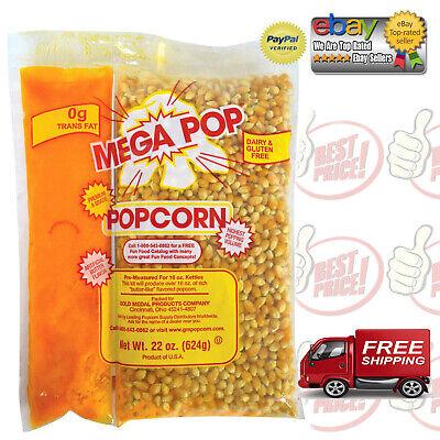 Gold Medal Mega Pop Corn, Oil & Salt Kit (16 oz. kit, 20 ct.) *BEST DEALS IN