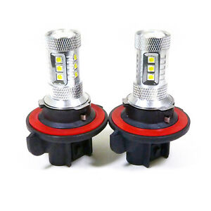2x 80w stage3 bright white h13 cree led daytime light lamp bulb. Black Bedroom Furniture Sets. Home Design Ideas