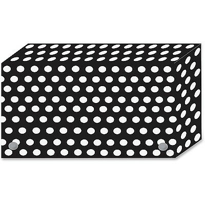 Ashley Bw Dots Design Index Card Holder Ash-90351 Ash90351