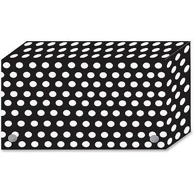 Ashley Bw Dots Design Index Card Holder Ash-90351 Ash90351