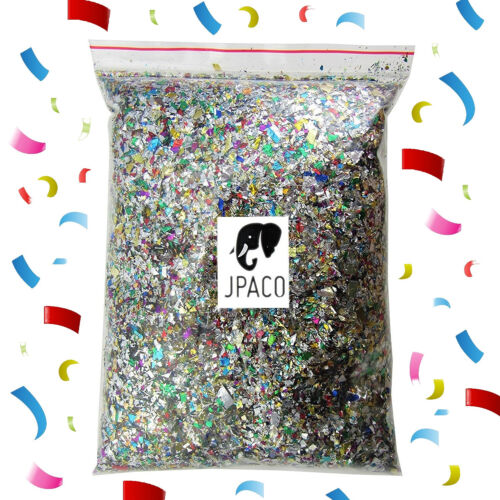 Sparkle Metallic Confetti (300grams / 10.5 oz) Great for Holidays and Events