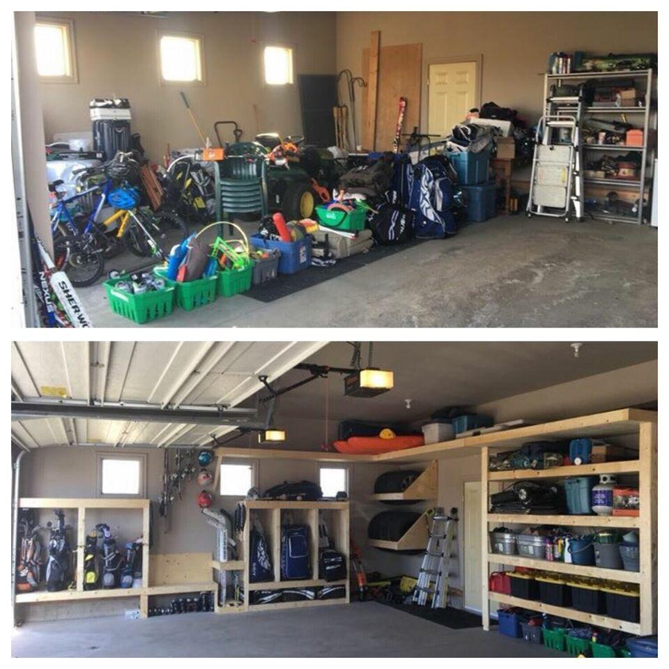 Garage Shelving , Storage , Organization, Shelf , Garage