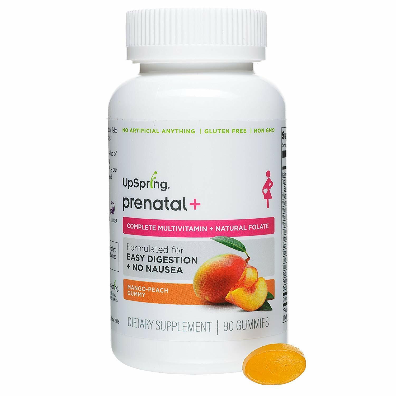 upspring baby prenatal multivitamin gummy vitamin 90