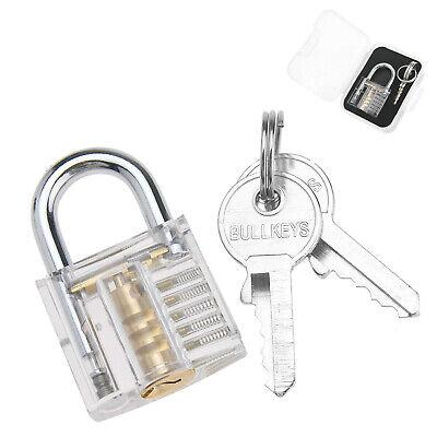 Pick Cutaway Visable Padlock Lock For Locksmith Practice Training Lock Skill Set
