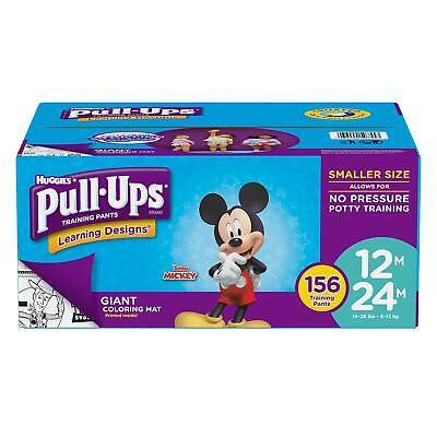 Huggies Pull-Ups Training Pants for Boys - 12M/24M -156 ct.