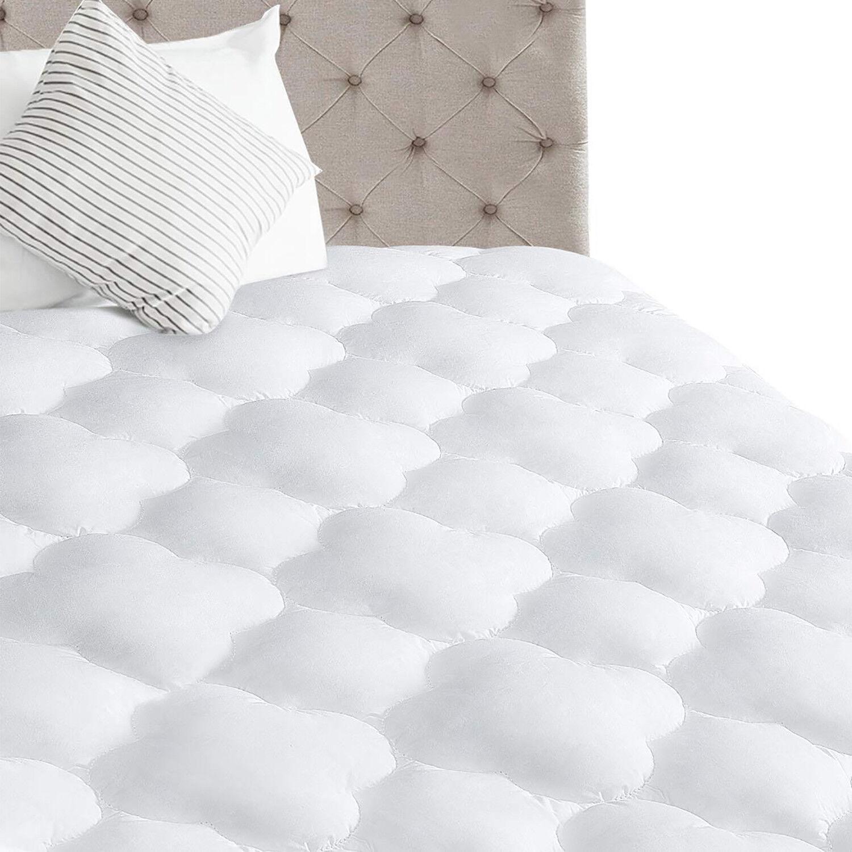 Reversible Mattress Pad Cooling Topper Deep Pocket Pillowtop