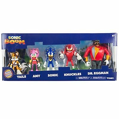 TOMY Sonic Boom Multi-Figure Pack Action Figure Set Kids Playset Toy Gift