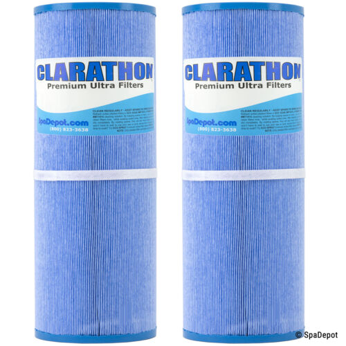 Antimicrobial Hot Tub Filter Cartridges - PRB50-IN-M FC-2390M C-4950RA - 2 Pack