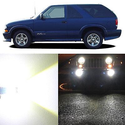 Alla Lighting Fog Light 881L 6000K Super White LED Bulb for 2000~05 Chevy Blazer