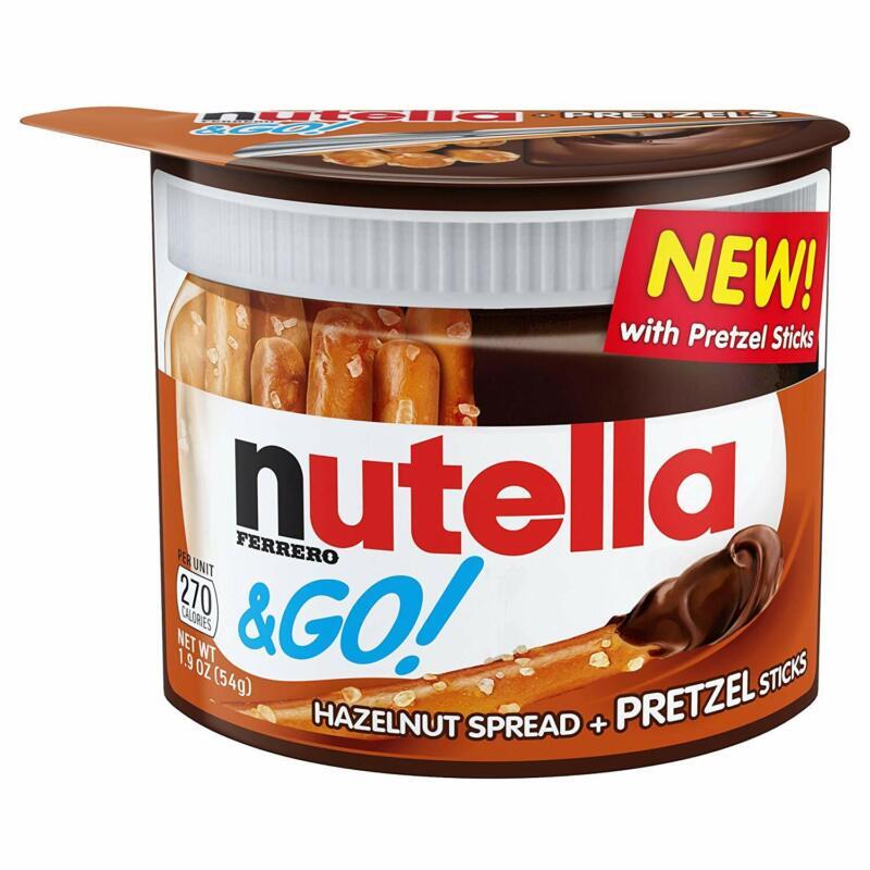 24 PACKS : Nutella & Go, Pretzel