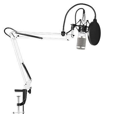 Neewer NW-800 Pro Estudio Kit Radiodifusión Grabación Micrófono Condensador