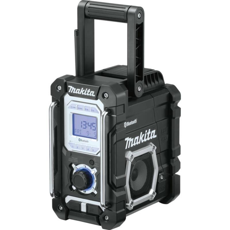 Makita XRM06B 18V LXT/12V  CXT Lithium_Ion Cordless Bluetooth Job Site Radio