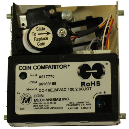 IGT S Plus, Coin Comparitor New CC-16 24V AC (66160188)