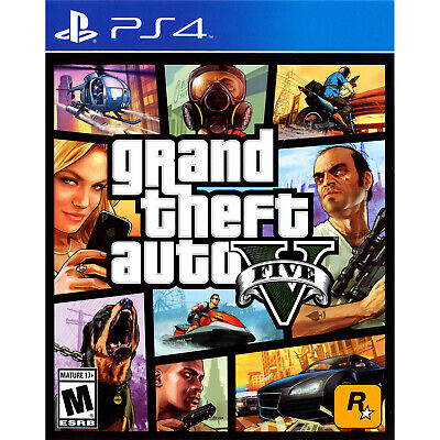 Grand Theft Auto V PS4 [Factory Refurbished]