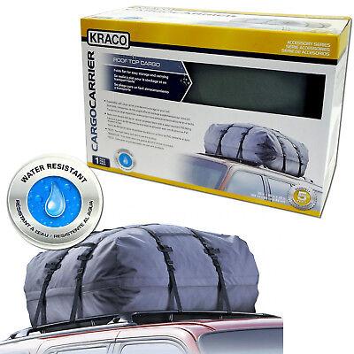 Cargo Roof Top Carrier Bag Rack Waterproof Storage Luggage Car Rooftop Travel