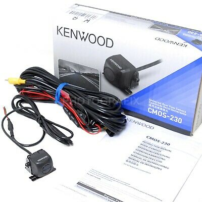 Kenwood CMOS-230 Wide Angle Rear View Backup Camera w Univer
