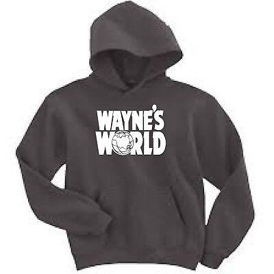 Wayne's World Hooded Hoodie Sweatshirt Brand New Dana (Myer Mens Brands)