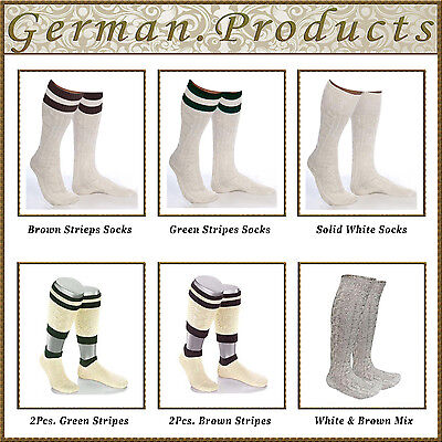 German Bavarian Trachten Lederhosen Socks Pairs,Sizes - - Lederhosen Socks