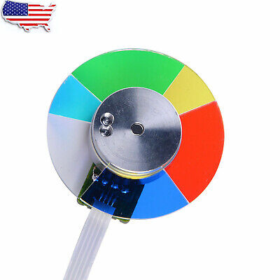 NEW Projector Color Wheel For OPTOMA HD141X HD180 GT1080 HD230X Smart UF55 UF65