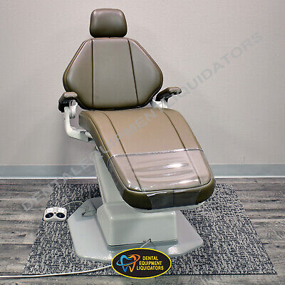 Adec Dental Patient Chair A-dec 1015 Decade With Premium Ultraleather Upholstery