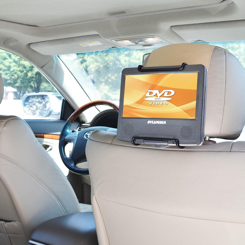 WANPOOL Car Headrest Mount Holder for Portable DVD Player, f