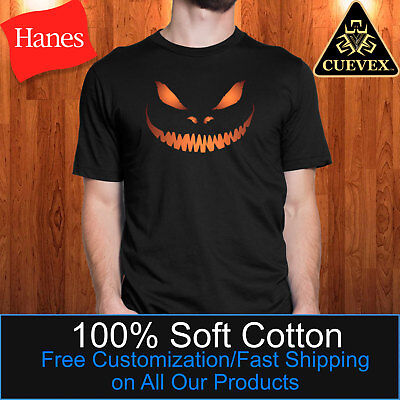 Scary Pumpkin Men Shirt, Jack o Lantern Halloween Costume, Trick or Treat Outfit