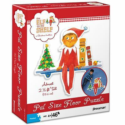 The Elf On The Shelf Pal Size Floor Puzzle