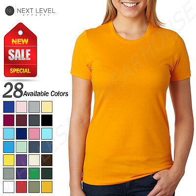 NEW Next Level Women's 100% Cotton XS-XL Boyfriend T-Shirt R-N3900