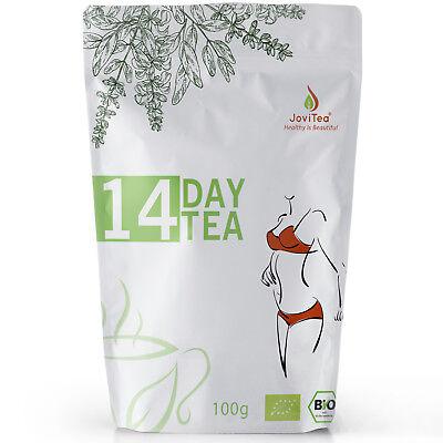 (11,99€/100g) JoviTea® 14 DAY TEA -Body- natürlich und zuckerfrei BIO loser Tee (Natürliche Tees)