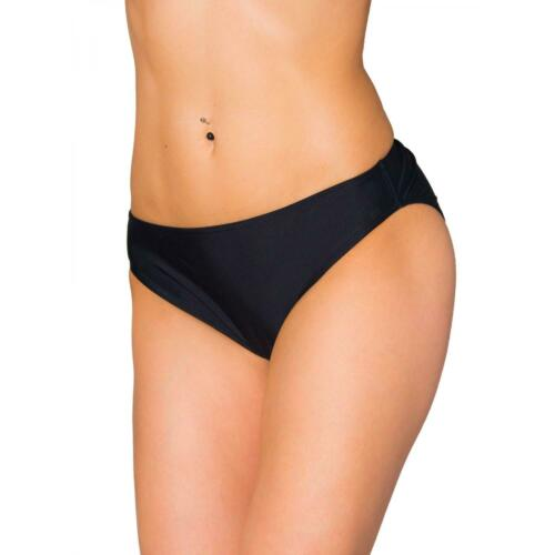 Aquarti Damen Bikini Hose mit mittelhohem Bund