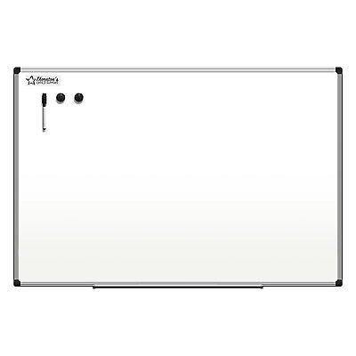 Thorntons Office Supplies Aluminum Frame 36 X 24 Magnetic Dry Erase Whiteboard