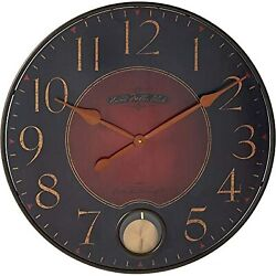 Howard Miller Harmon Gallery Wall Clock 625-374  Oversized Wrought-Iron with