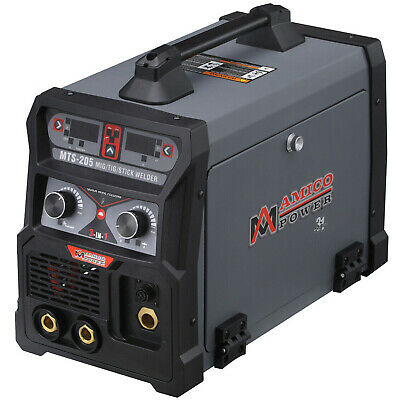 Amico Mts-205 205-amp Migflux Coredtigstickarc Dc Welder 110230v Welding