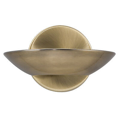 Searchlight LED Uplight Antique Brass Frosted Glass Wall Bracket Indoor Lighting