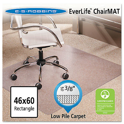 Es Robbins 46x60 Rectangle Chair Mat Multi-task Series Anchorbar For Carpet Up