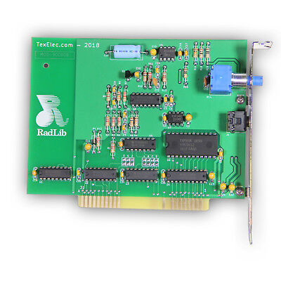 Radlib OPL2 - ADLIB REPLICA Sound Card - 8-Bit ISA - by TexElec