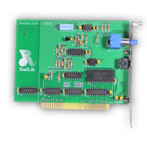 Radlib OPL2 - ADLIB REPLICA Sound Card - 8-Bit ISA - by TexElec