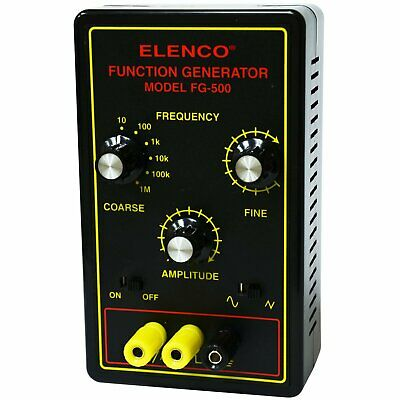 Elenco Fg-500 1mhz Assembled Function Generator Also Available In Kit Form