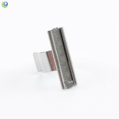Endo Finger Gauge Ruler With Measuring Scale Stainless-steel Dental Instrument
