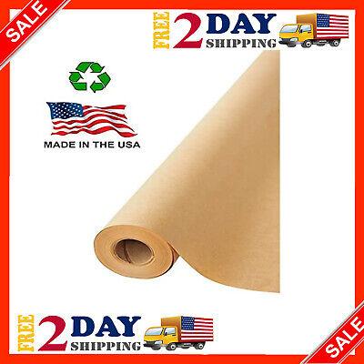 Made In Usa Brown Kraft Paper Jumbo Roll 17.75 X 1200 17.75wx1200l