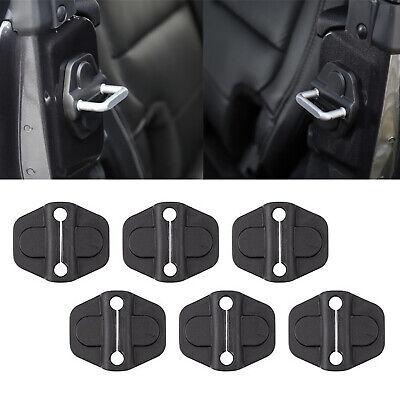 Car Door Lock Cover For Jeep Wrangler JL Gladiator JT 2018 2019 2020 Accessories