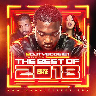 DJ TY BOOGIE - BEST OF 2018 PT. 1 (MIX CD) HIP-HOP, R&B AND BLENDS