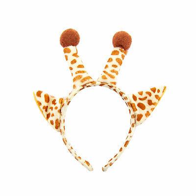 Haarreifen Giraffe Haarreif Ohren Hörner Kostüm Accessoire für - Kostüme Für Karneval