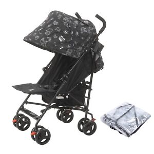 Lightweight Stroller with Raincover & Cup Holder in Animal Design by Jane Foster
