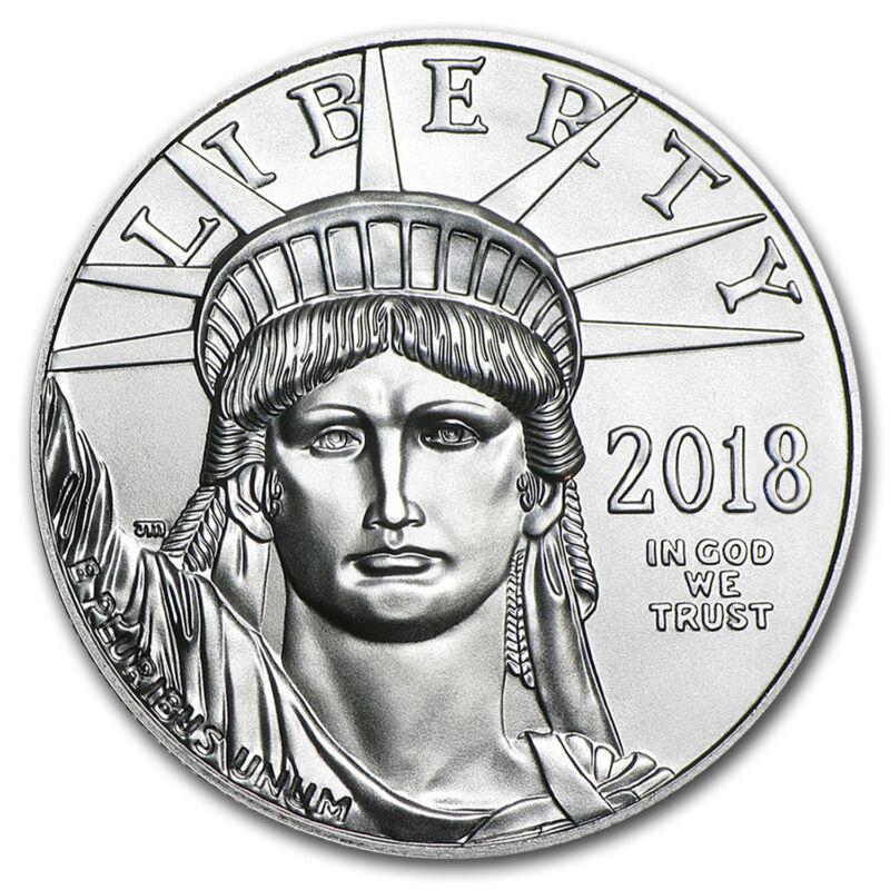 2018 1 oz Platinum American Eagle MS-70 PCGS (LL) - SKU #171593