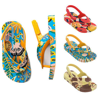 Mini Melissa Baby Sandals Ipanema Flip Flops Slingback Summer Shoes NEW