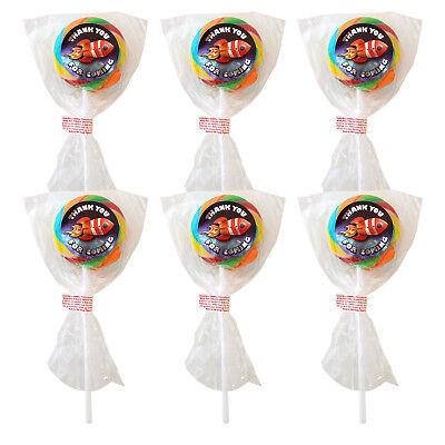 Party Bag Lollies SPACE Fruit Flavour Lollipops x 6 Boys Lolly Pop](Space Lollipops)