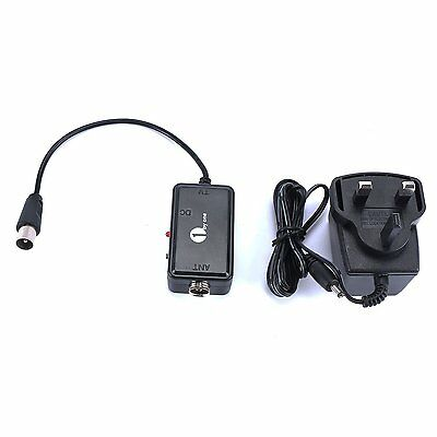 Digital Amplifier High Gain Low Noise Signal Booster for Indoor HDTV Aerial